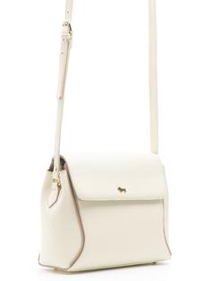 Бежевая кожаная сумка Labbra