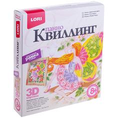 Набор Lori 3D Квиллинг-панно Цветочная фея Квл-019 / 221387 Лори