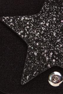 Черная сумка со звездой Roro