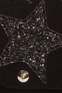 Черная сумка со звездами Roro