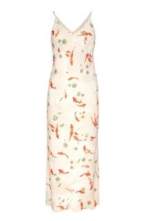 Платье-макси на тонких бретелях Laroom