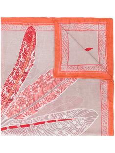 шарф с рисунком Lynk Hemisphere