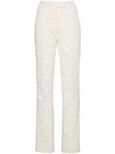 прямые кружевные брюки  Calvin Klein 205W39nyc