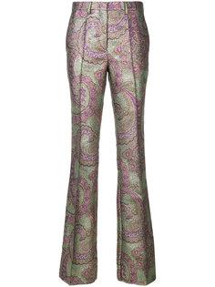 брюки клеш с принтом пейсли  Etro