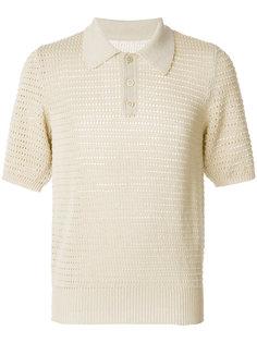 футболка-поло рыхлой вязки Maison Margiela