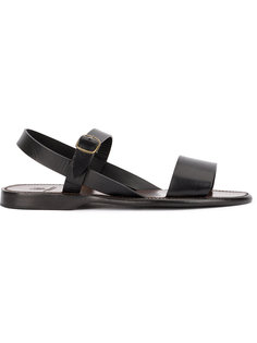 сандалии с перекрестными ремешками  Silvano Sassetti