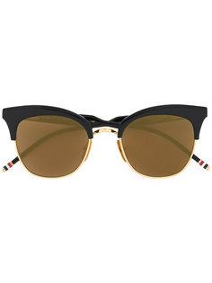 """солнцезащитные очки в оправе """"кошачий глаз"""" Thom Browne Eyewear"""
