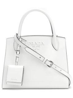 маленькая сумка-тоут Paradigm Prada
