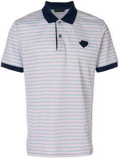 рубашка-поло в полоску Prada