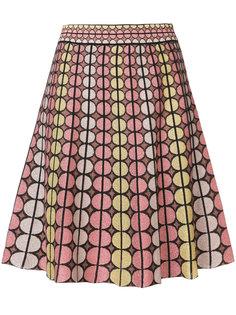 юбка с геометрическим узором M Missoni