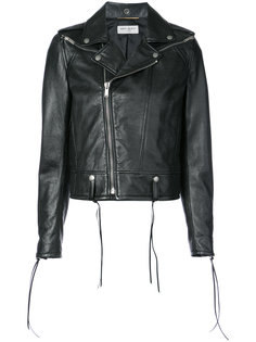 classic biker jacket Saint Laurent