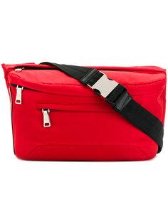 поясная сумка с нашивкой логотипа Prada