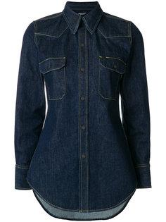приталенная джинсовая рубашка  Calvin Klein