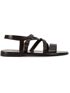 сандалии с ремешками Silvano Sassetti