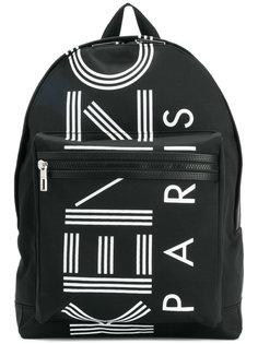 рюкзак с принтом логотипа Kenzo