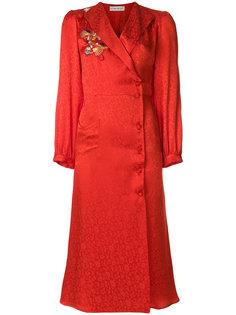 жаккардовое платье миди  Etro