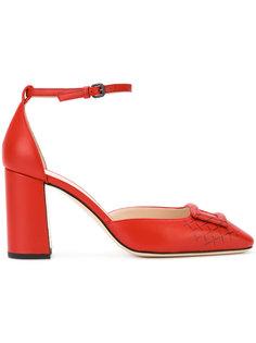 туфли с ремешком на щиколотке Bottega Veneta