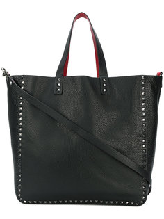 двухсторонняя сумка-шоппер Rockstud Valentino