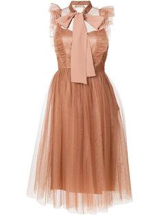 платье из тюля с бантом  Nº21