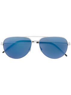 """солнцезащитные очки с оправой """"авиатор"""" Saint Laurent Eyewear"""