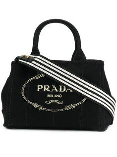 маленькая сумка-тоут Giardiniera Prada
