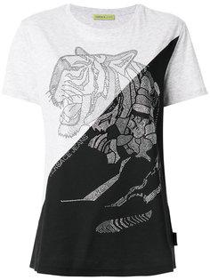 футболка с кристаллами Versace Jeans