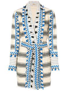 полосатое платье-кимоно Dodo Bar Or