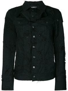 джинсовая куртка с потертой отделкой Ann Demeulemeester