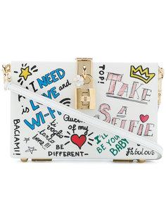 box clutch with mural print Dolce & Gabbana