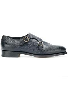 туфли с пряжками  Santoni