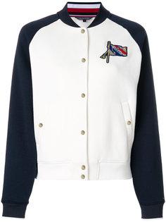 куртка-бомбер с вышивкой Tommy Hilfiger