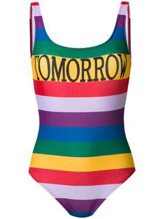 слитный купальник с принтом Tomorrow Alberta Ferretti