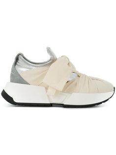 кроссовки с завязкой на бант Mm6 Maison Margiela