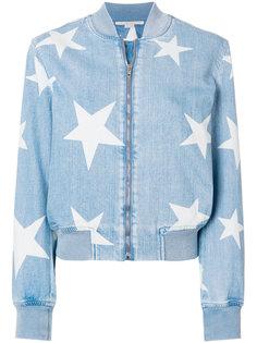 джинсовая куртка-бомбер Star Stella McCartney