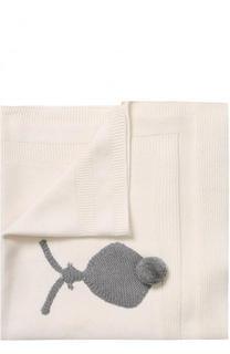 Одеяло из хлопка и шерсти Stella McCartney