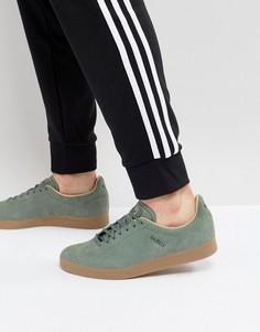 Зеленые кроссовки adidas Originals Gazelle Decon CG3705 - Зеленый