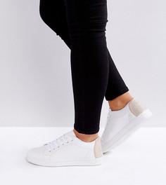 Кроссовки для широкой стопы со стразами Truffle Collection - Белый