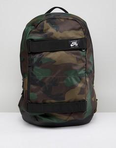 Рюкзак с камуфляжным принтом Nike SB Courthouse BA5438-223 - Зеленый