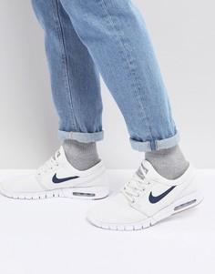 Белые кроссовки Nike SB Stefan Janoski Max 631303-103 - Белый