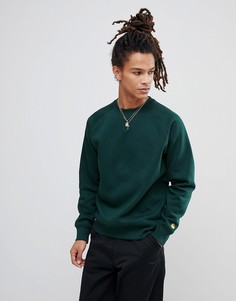 Зеленый свитшот Carhartt WIP Chase - Зеленый