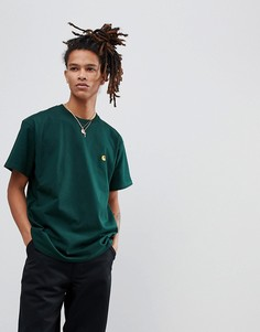 Зеленая футболка Carhartt WIP Chase - Зеленый
