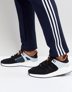 Черные кроссовки adidas Originals EQT Support 93/17 CQ2396 - Черный