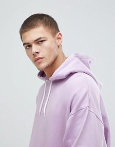 Oversize-худи сиреневого цвета ASOS - Фиолетовый