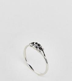 Серебряное кольцо с черепом Kingsley Ryan - Серебряный