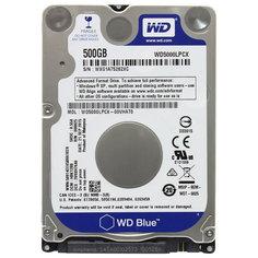 Внутренний HDD диск WD 500GB Blue Mobile (WD5000LPCX)