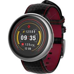 Умные часы MyKronoz ZeRound2HR Premium Silver-Black-Red