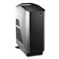 Настольный компьютер Dell Alienware Aurora R7 Silver R7-9935 (Intel Core i5-8400 2.8 GHz/8192Mb/1000Gb/DVD-RW/AMD Radeon RX 570 4096Mb/Wi-Fi/Bluetooth/Windows 10 Home 64-bit)