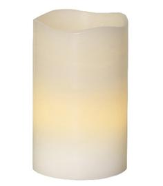 Светодиодная свеча Star Trading Wax White 063-33