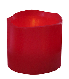 Светодиодная свеча Star Trading Wax Red 063-41
