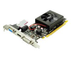 Видеокарта Palit GeForce GT 610 810Mhz PCI-E 3.0 1024Mb 1070Mhz 64 bit DVI HDMI VGA HDCP NEAT6100HD06-1196F